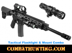 Tactical Shotgun Led Flashlight Luxeon Led Super Bright