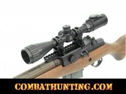 "UTG 3-12X40 1"" Hunter Scope, AO, 36-color Mil-dot, w/ Rings"