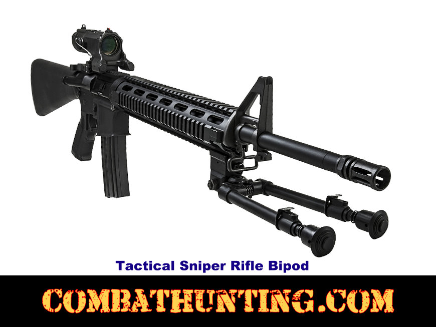 Rifle Bipod With Picatinny Rail Mount style=