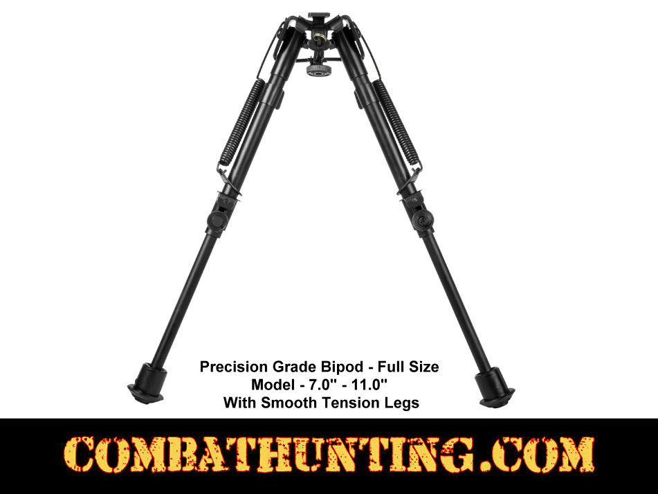 NcStar Precision Grade Bipod Fullsize 3 Adapters 7 to 11 inches style=