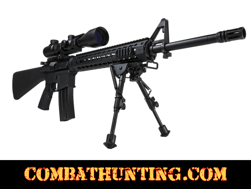 NcSTAR Precision Grade Bipod Compact 5.5 to 8 inches 3 Adaptors style=